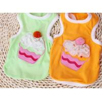 Wholesale Summer Colorful Cotton Medium Dog Clothes t Shirt Sports For Family from china suppliers