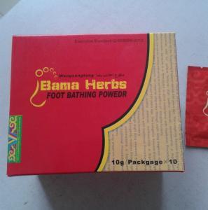 Wholesale natural herbal bama foot bathing powder from china suppliers