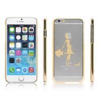 Wholesale Hard PC Plastic Clear Transparent  Apple iPhone 6 protective cases and cover from china suppliers
