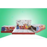 Buy cheap Disney Nightlight Cardboard Countertop Displays / Corrugated Paper Table Counter Display Unit from wholesalers