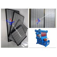 Wholesale Stainless Steel Swaco Mongoose Oilfield Shaker Screen API 20-325 Plain Wave Style from china suppliers