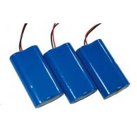 Wholesale DC 1S2P diy li ion battery pack red / black wire 4000mAh Battery Pack from china suppliers