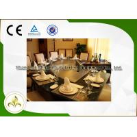 China Professional Commercial Gas Teppanyaki Plate , Eleven Seat Flat Top Gas Grill Table on sale