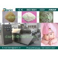 Wholesale Fully Automatic Nutritional Baby Powder Food Extruder Machine /  baby food making machine from china suppliers