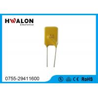 Wholesale Custom Loudspeaker PPTC Thermistor Resettable Resistors Fuses Yellow Color from china suppliers