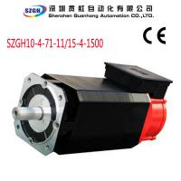 Wholesale Water Cooled 11KW  0.01rpm Overload AC Spindle Servo Motor for Cnc Router from china suppliers