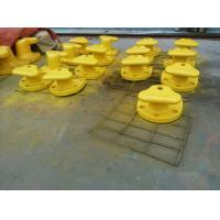 Wholesale Marine Cast Iron Steel / Mild Steel Tee Head Mooring Bollard With Epoxy Primer Surface from china suppliers