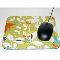Wholesale Full Color Printed Durable Cloth Mouse Pad With Non Slip Rubber Base from china suppliers
