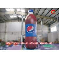 Buy cheap PVC HD Inkjet  Advertising Inflatable Model / Inflatable Bottle With Customized Logo from wholesalers