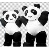 Wholesale PVC Customized Inflatable Blow Up Animals Pandas Shaped Funny Inflatable Costumes from china suppliers