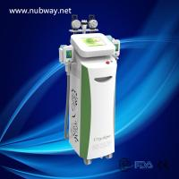 Quality Fat Burning 5 handles Vacuum Cavitation+RF+Cryolipolysis Radio Frequency slimming machine for sale