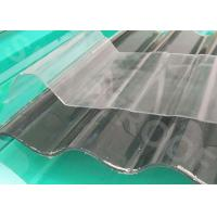 Wholesale Durable Heat Insulation FRP Translucent Roofing Sheets 50 Barcol Hardness from china suppliers
