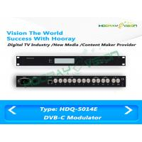 Wholesale Cable MMDS ASI CATV Digital QAM RF Modulator 180 PIDS Remapping Per Channel from china suppliers