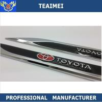 Wholesale Customized Colorful Metal TOYATA Car Chrome Badge Car Side Body Stickers from china suppliers