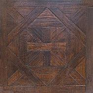 Wholesale dark walnut color Bordeaux pattern parquet flooring from china suppliers