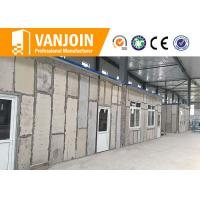 Wholesale Construction 90mm 120mm eps cement sandwich wall panel for prefab house building from china suppliers