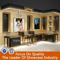 Wholesale hot sell fashion tempered glass showcase jewelry kiosk for sale from china suppliers