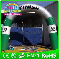 Wholesale QinDainflatable finish line arch inflatable entrance arch advertising inflatable arch gate from china suppliers