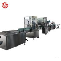 Wholesale Spray PU Foam Filling Machine Aerosol Filling Line Low Pressure Semi Automatic from china suppliers