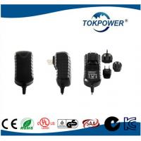 Wholesale 24v Wall Mount Home Appliances Adapter Interchangeable Plug / Medical Switching Adapter from china suppliers