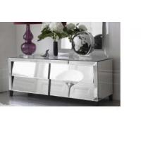 Wholesale Mirrored Bedside Table, Glass Mirror End Table from china suppliers