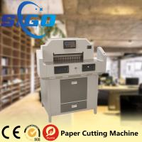 Wholesale 520H paper guillotine cutting machine factory supply electric paper cutter good quality from china suppliers