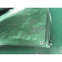 Quality truck cover waterproof fabric tarp, long working life and easy to handle for sale
