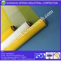 Wholesale where to buy silk screen mesh 43T white/yellow plain weave bolting cloth from china suppliers