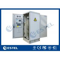 Buy cheap Temperature Control 41U Outdoor Rack Cabinet Double Door Anti Corrosion Powder Coated from wholesalers