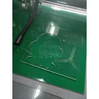 Buy cheap Acrylic pattern making cnc cutting table production making machine from wholesalers