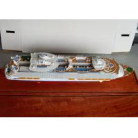 Wholesale Scale 1:900 Oasis Of The Seas Royal Caribbean Cruise Ship Models With Engraving Printing Hull Logo Printing from china suppliers