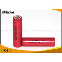Buy cheap Lg He2 18650 E Cigarettes Batteries Lithium Ion 2500mah 20A Light Weight from wholesalers