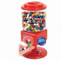 Wholesale Red Color Kids' Funny Induction Candy Machine Play Toy, Measuring 32 x 17 x 17cm from china suppliers