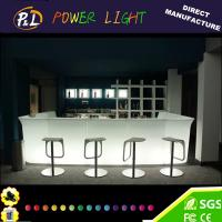 Wholesale LED Furniture Blinking Straight Counter for Bar from china suppliers
