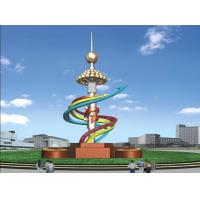 Wholesale 10 meter height city 304 stainless steel sculpture from china suppliers