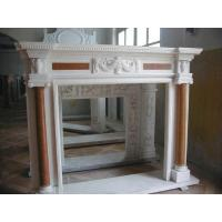 Wholesale marble fireplace mantel for home decoration from china suppliers