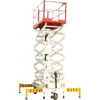 Wholesale Electric Motor Elevating Scissor Lifting Platform 250kg 3500mm from china suppliers