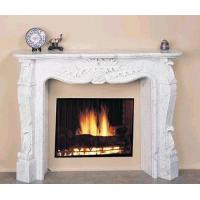 Wholesale White Marble Craved Fireplace from china suppliers