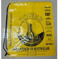 Buy cheap prompt response printed soft loop handle ldpe polythene carry bags, draw string bags, draw from wholesalers
