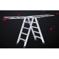 Wholesale Loft Access Hanging Ladder Custom Aluminum Extrusion Multifunction ISO9001 Certification from china suppliers