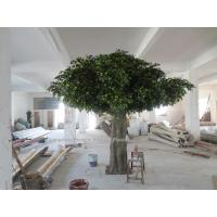 Buy cheap 8m huge outdoor park/resturant landsaping artificial banyan tree from wholesalers