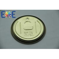 Wholesale Full Open Tinplate Can Easy Open Lid , 300# 73mm Metal Can Lid from china suppliers