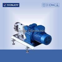 Buy cheap 316L Horizontal TUL Lobe High Purity Pumps with Explosion proof Motor Clamp End Connection from wholesalers