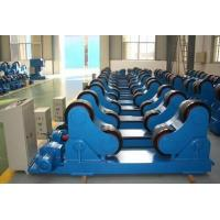 Lodaing Capacity 5 Ton Self Aligning Pipe Turning Rollers Standing Long Tanks  Electric Control VFD Change Speed