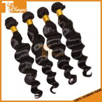 Wholesale 20inch 5A Peruvian Loose Wave Hair Top Quality Peruvian Human Hair from china suppliers