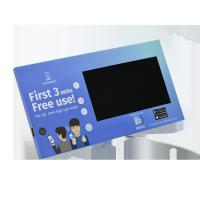 Wholesale Custom design video point of purchase display, retail LCD video pop display video shelf talker from china suppliers