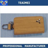 Wholesale Colorful Genuine Cow Leather Car Key Case Keychain Multiple Key Holder from china suppliers