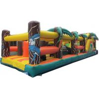 Wholesale Multiplay Inflatable Radical Run Obstacle Course With Double Stitching from china suppliers