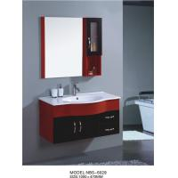 Wholesale wall cabinet / PVC bathroom vanity / hanging cabinet / red color sanitary ware 100 X47/cm from china suppliers