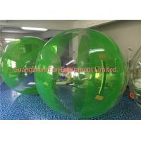 Wholesale Green Inflatable Water Walking Ball Roll Inside High Performance Environment Friendly from china suppliers